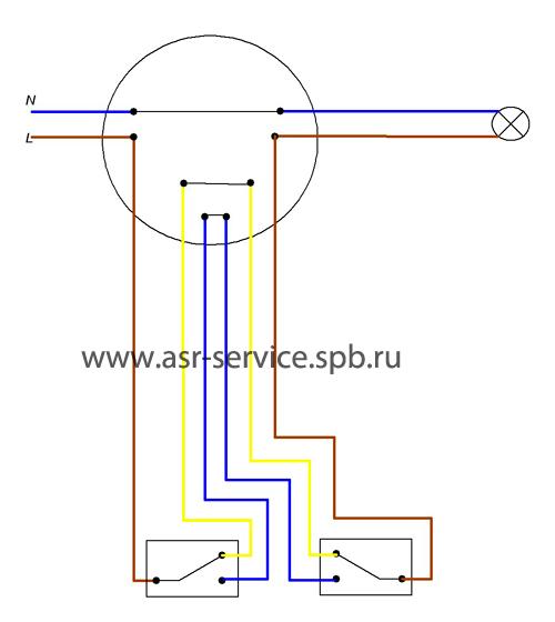 Схема №2, Схема переключателей