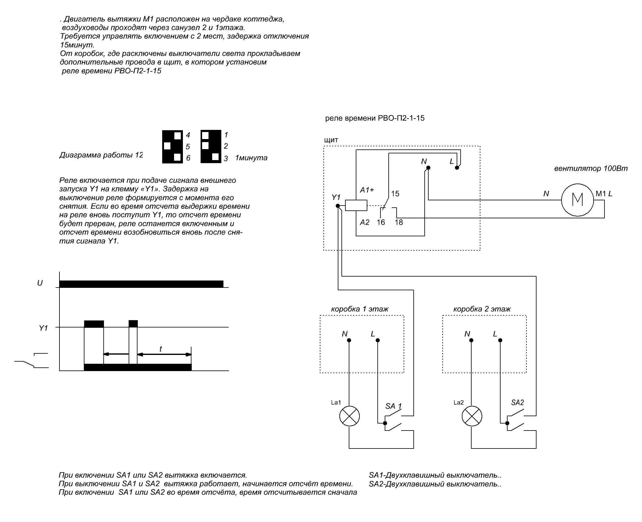 Электрические схемы - Проводка в.